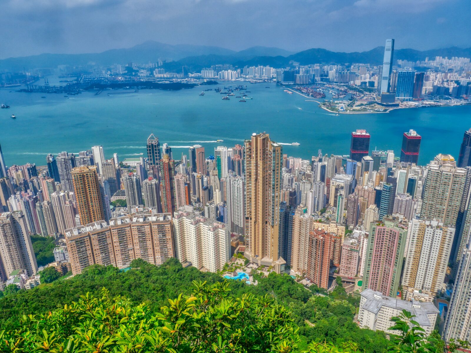 Victoria Peak View Point – Hongkong