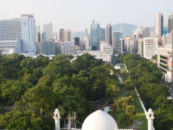 Kowloon Park from the above